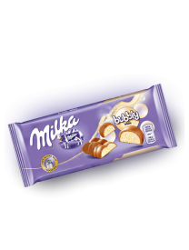 Шоколад Milka Bubbly White 90 грамм