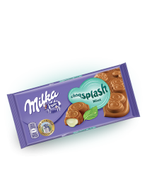 Шоколад Milka Choq Splash Mint 90 грамм