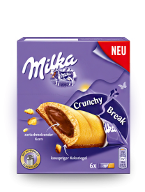 Молочный шоколад Милка Milka Tender Break Plain 130 грамм