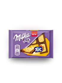 Молочный шоколад Милка Тук Milka TUC Chocolate 35 грамм