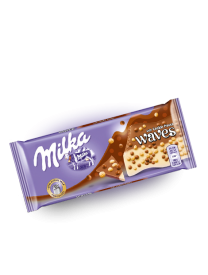 Шоколад Milka Waves Cookie 81 грамм