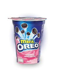 Печенье Oreo - Mini Strawberry 67 грамм (Индонезия)