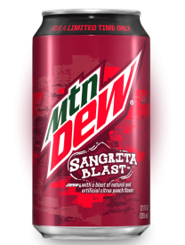Mountain Dew Sangrita Blast