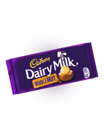 Шоколад Cadbury Dairy Milk WHOLENUT 200 гр