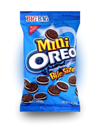 Oreo Chocolate Mini Bite Size 85 грамм.