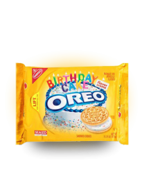 Oreo Sandwich Golden Birthday Cake 432 грамма