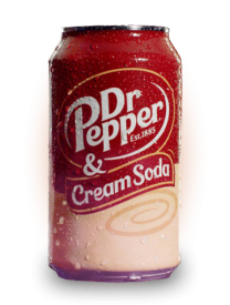 Напиток Dr.Pepper Cream Soda 355 мл ж/б