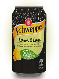 Schweppes Lemon and Lime