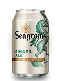 Напиток Seagrams Ginger Ale 0,355 л