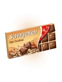 Молочный шоколад Schogetten Oat Cookiies 100 грамм
