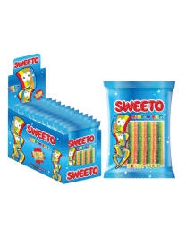 "Мармелад SWEETO ""RAINBOW BELT"" (Супер кислая лента Тутти-фрутти) 80 грамм"