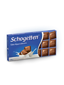 Молочный шоколад Schogetten Alpine Milk Chocolate 100 грамм