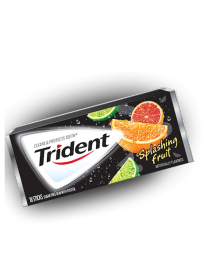 Trident Gum Splashing Fruit