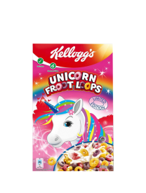 Сухой завтрак Kelloggs Froot Loops Unicorn Edition 375 грамм