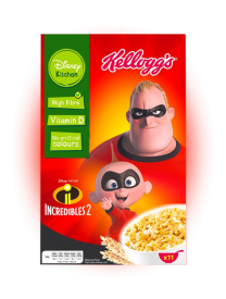 Сухой завтрак Kellogs Disney Incredibles-2 350грамм